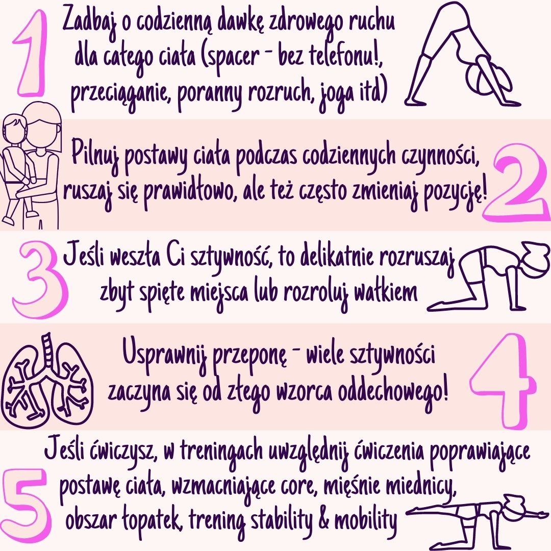 Proste sposoby, na to jak rozluźnić spięte mięśnie